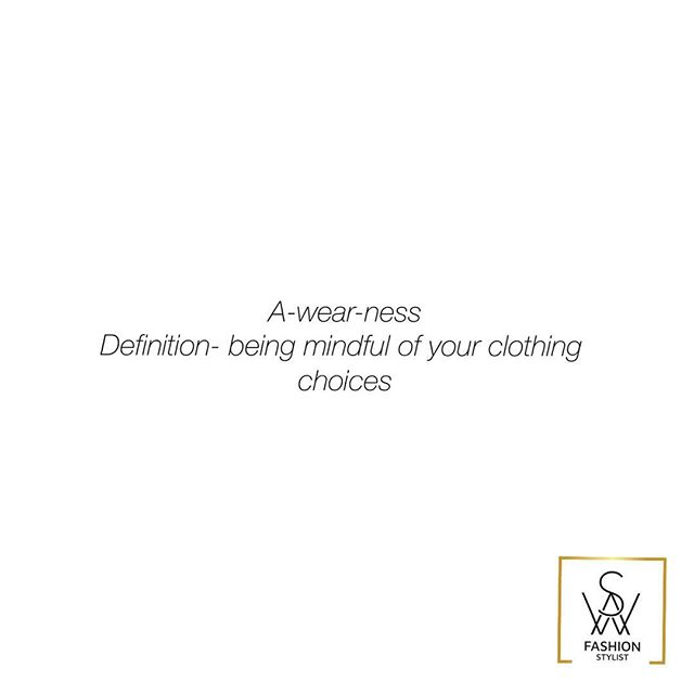 Wear what makes you feel comfortable and confident #themindfulstylist