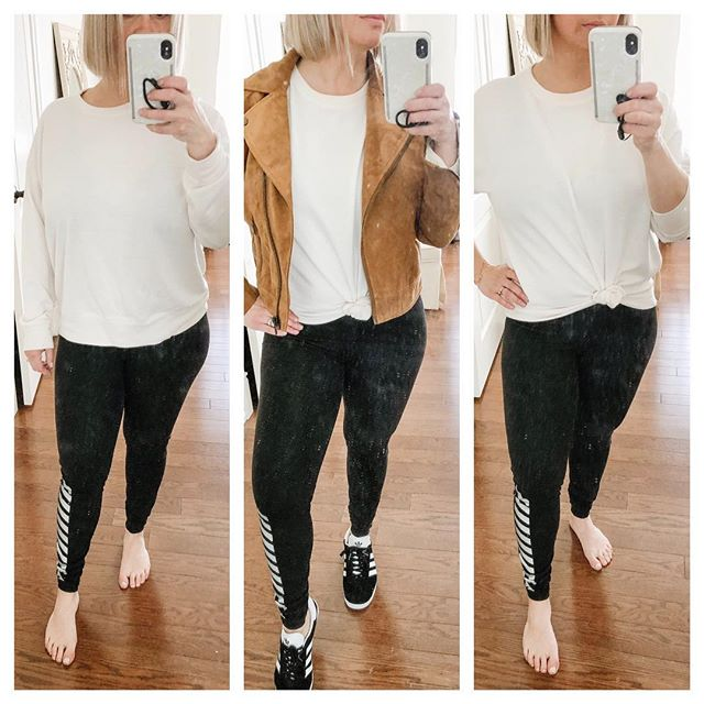 3 Ways to Wear - I'm all about comfort. It's always the great debate on leggings. Ladies you can chic up any outfit and still achieve comfort! Don't over complicate because then you usually hate the way you feel or look. #justbeyou #themindfulstylist