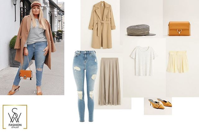 Ways to wear. Easy switch from jeans to shorts or a more formal skirt. Inspiration from @stylemecurvy  Not sure how to style your wardrobe? I would love to help you curate and streamline your outfits to take the hassle out of getting dressed, click link in bio for styling services and to shop the look.