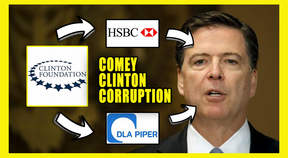 Jim Comey's brother Peter works at the law firm, DLA Piper, which conducted the totally unbiased audit of the Clinton Foundation. DLA Piper has given Clinton $939,101 in campaign contributions since 1989 and between $50,000 - $100,000 to the Clinton Foundation. That looks like quite a conflict of interest.