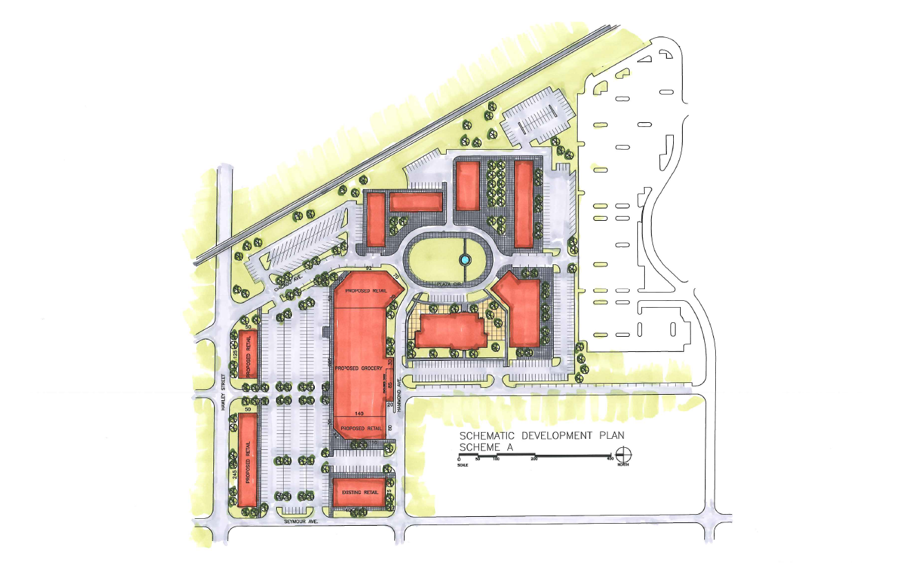 Mundelein Development Plan Schemes A and B 100512-1.png
