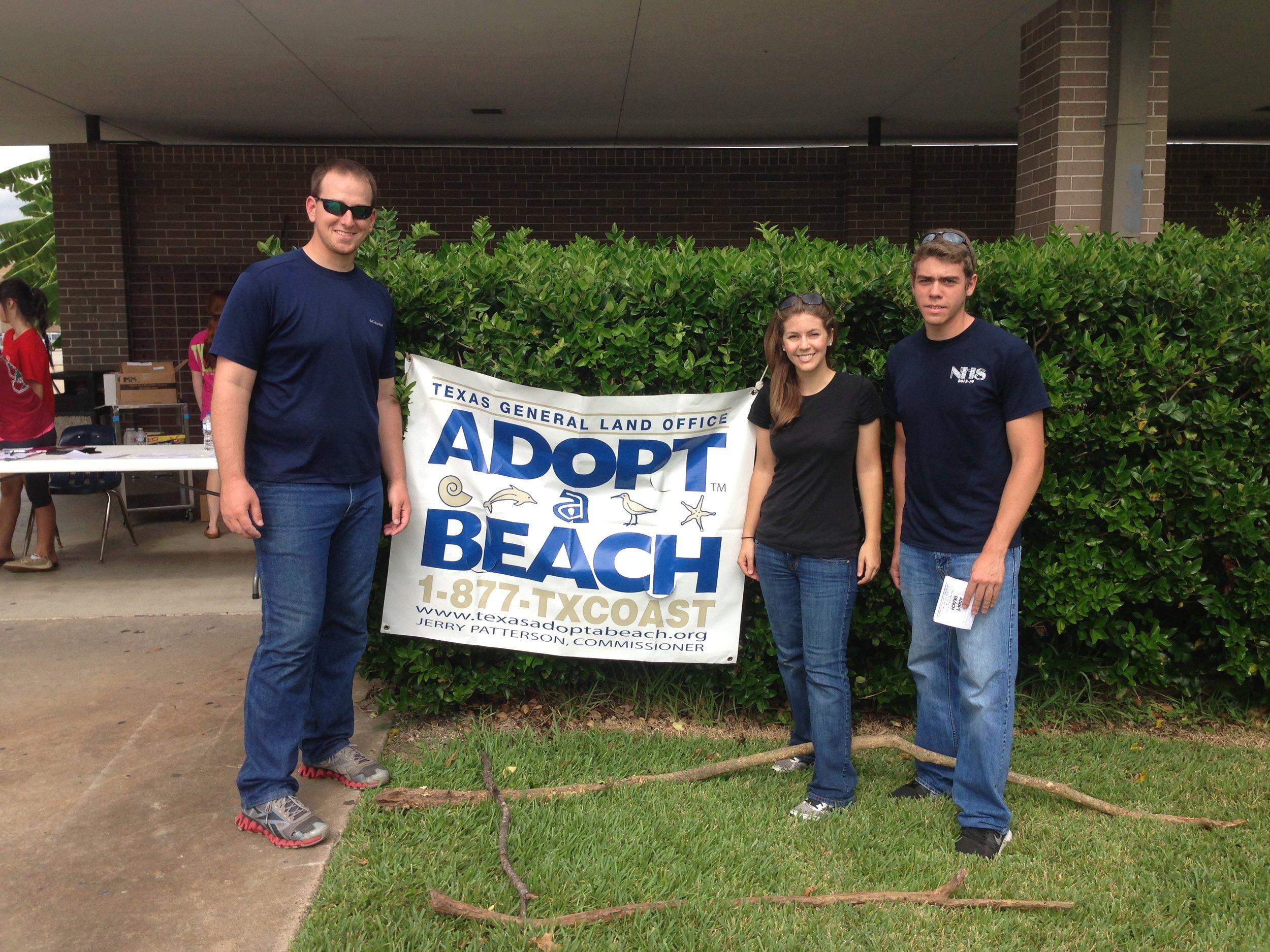 Adopt A Beach Program volunteers