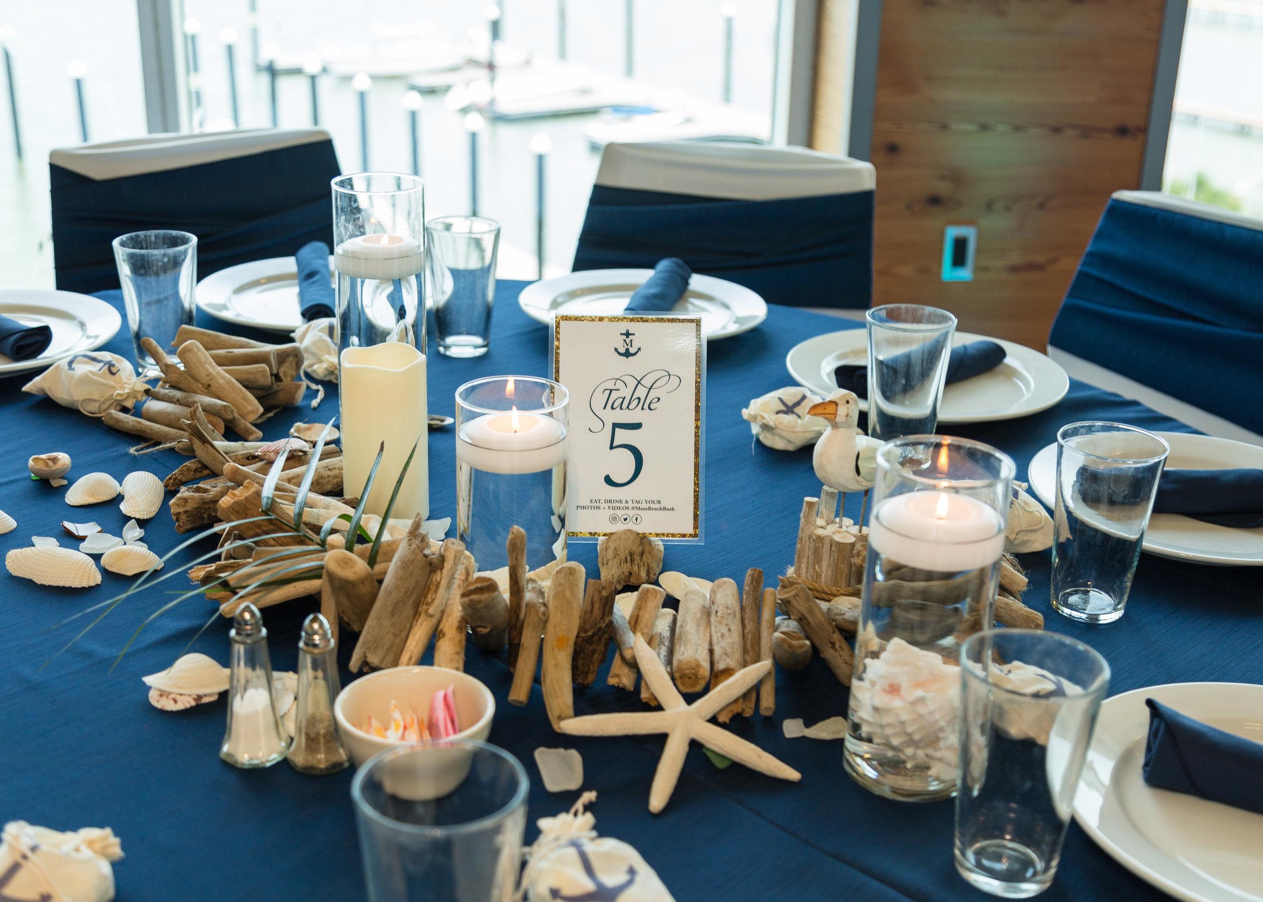 Driftwood Garland Table Centerpiece