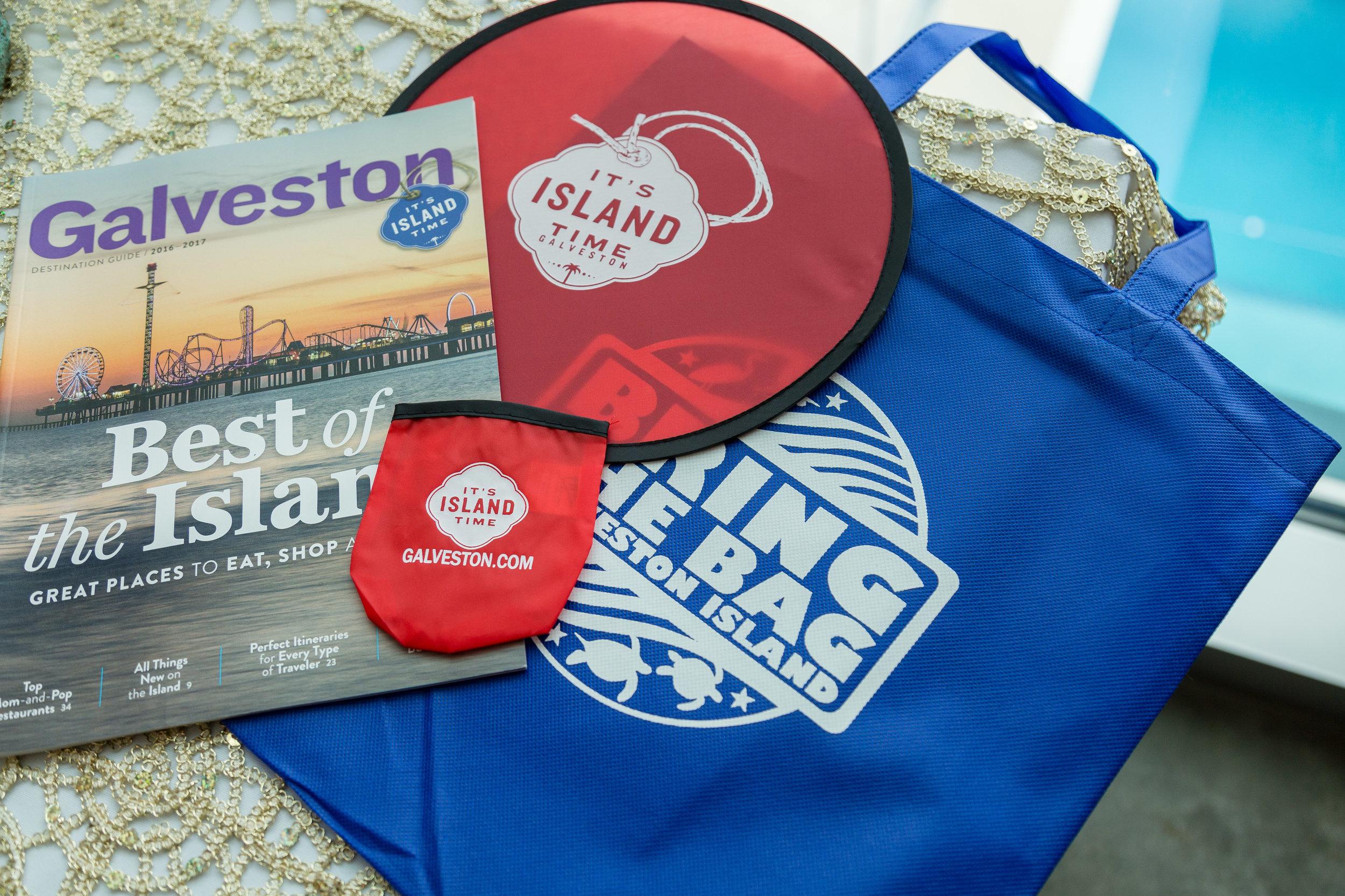 Love Galveston DIY Wedding Favor Bag