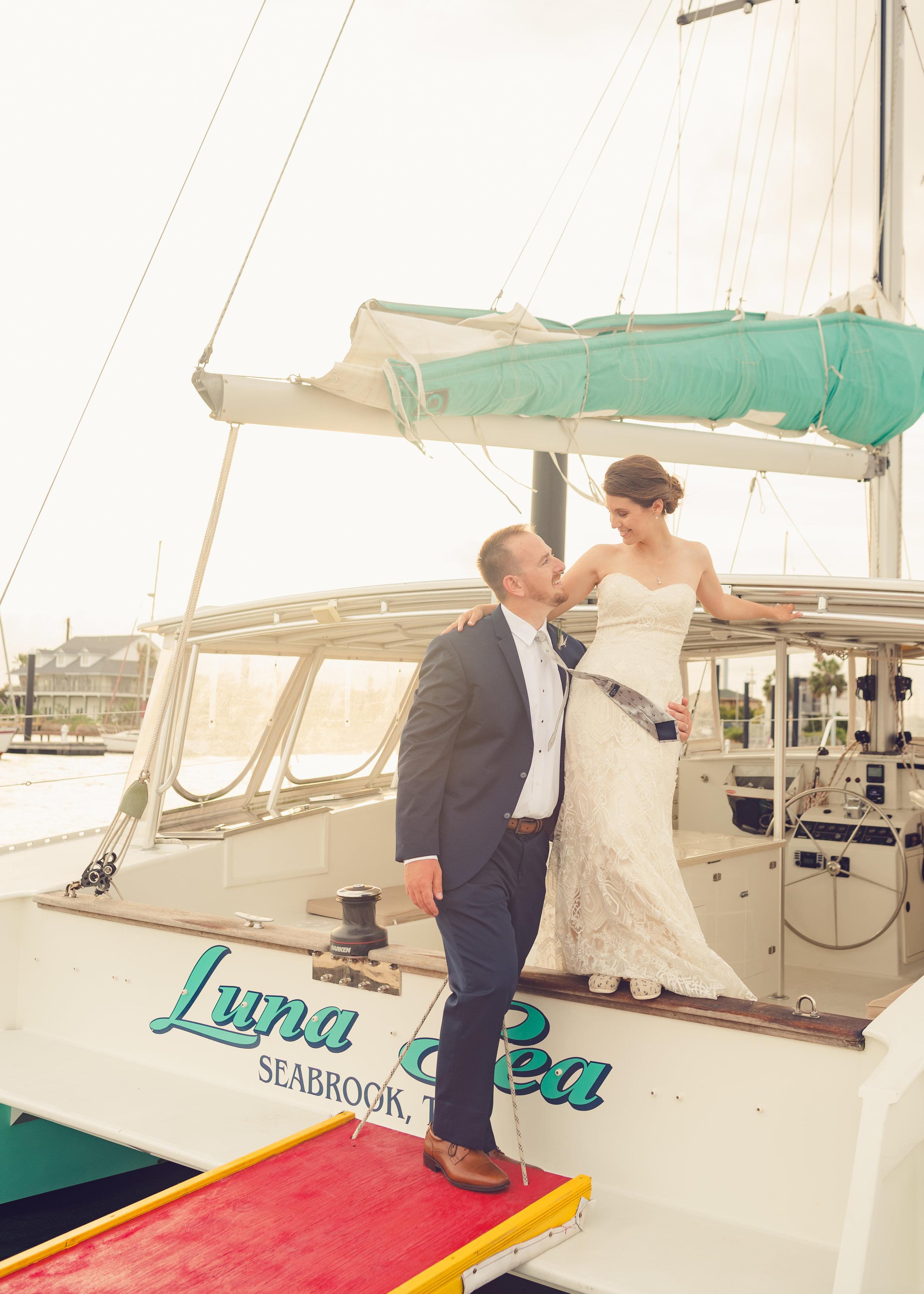 Wedding Reception Sail-away Exit