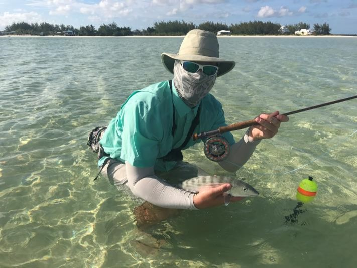 Flyfishing at our Beach