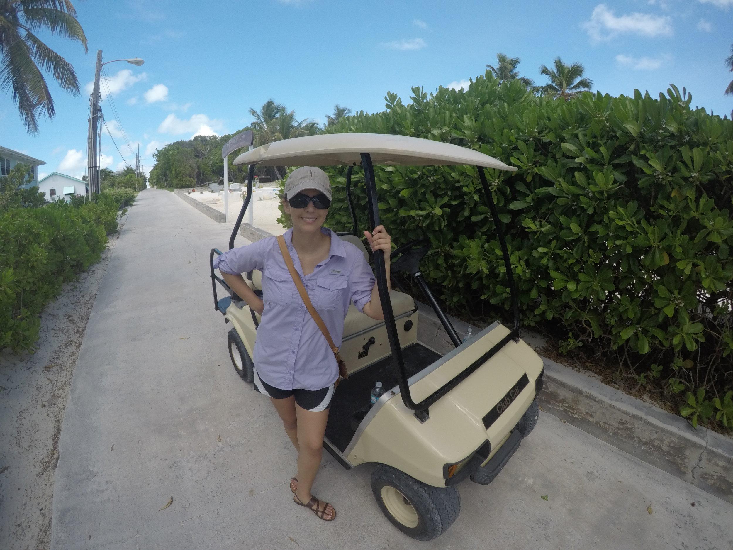 Man O War Golf Cart