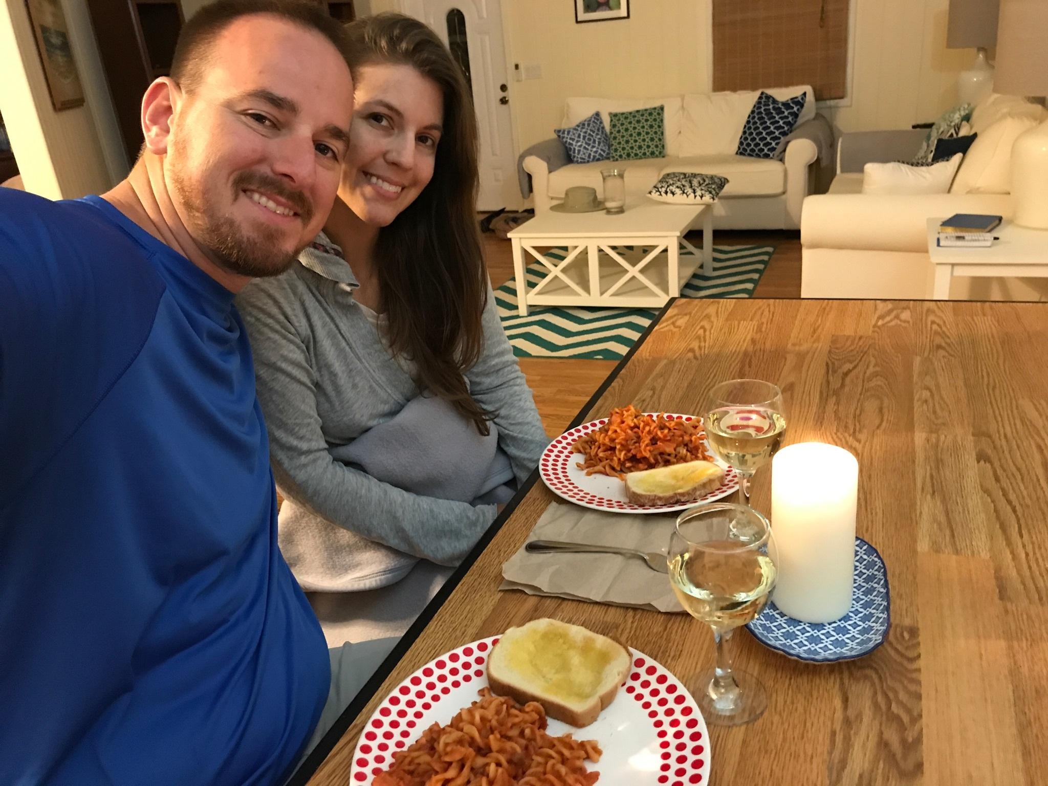 Serenity Cottage Dinner