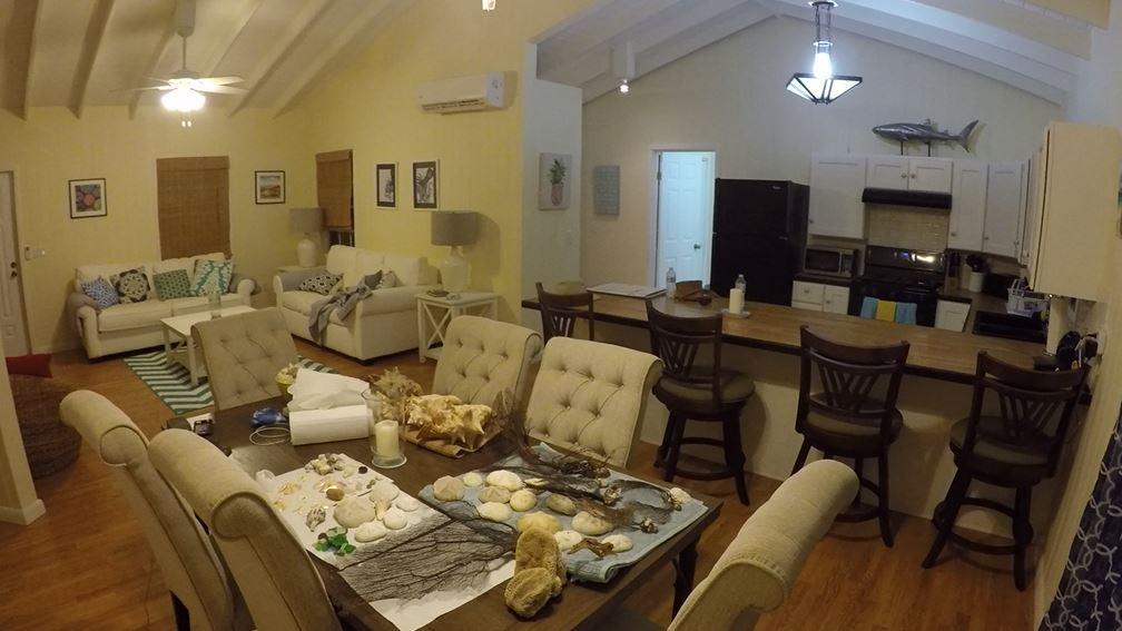 Inside Serenity Cottage
