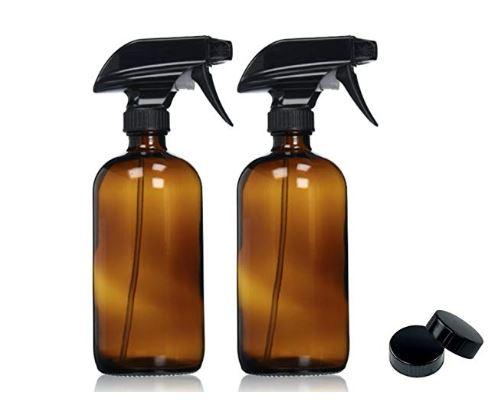 Sallys Organics Amber Spray Bottles.JPG