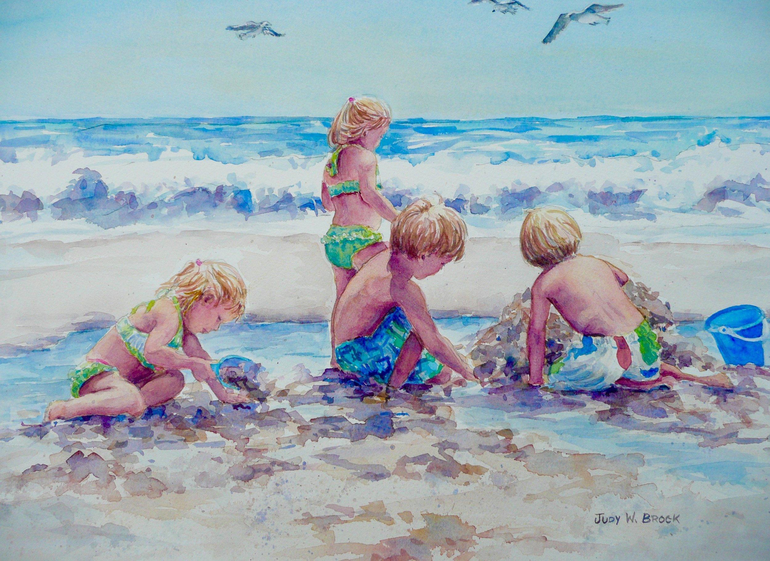 Cousin's Beach Time
