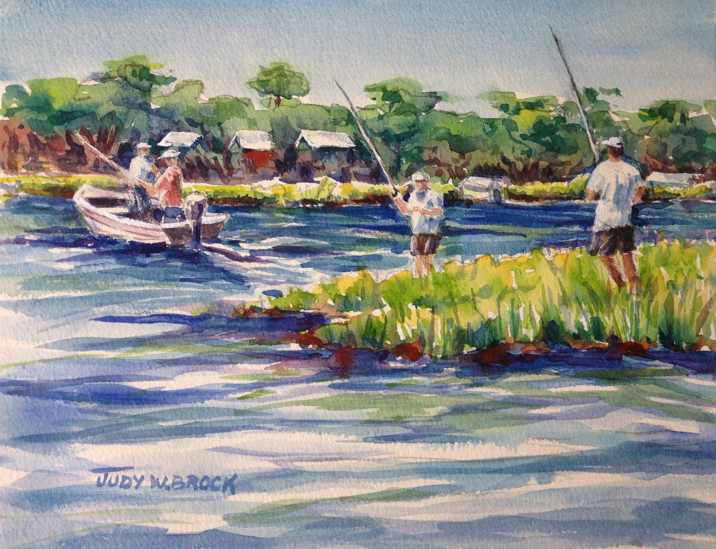 Inlet Fishermen