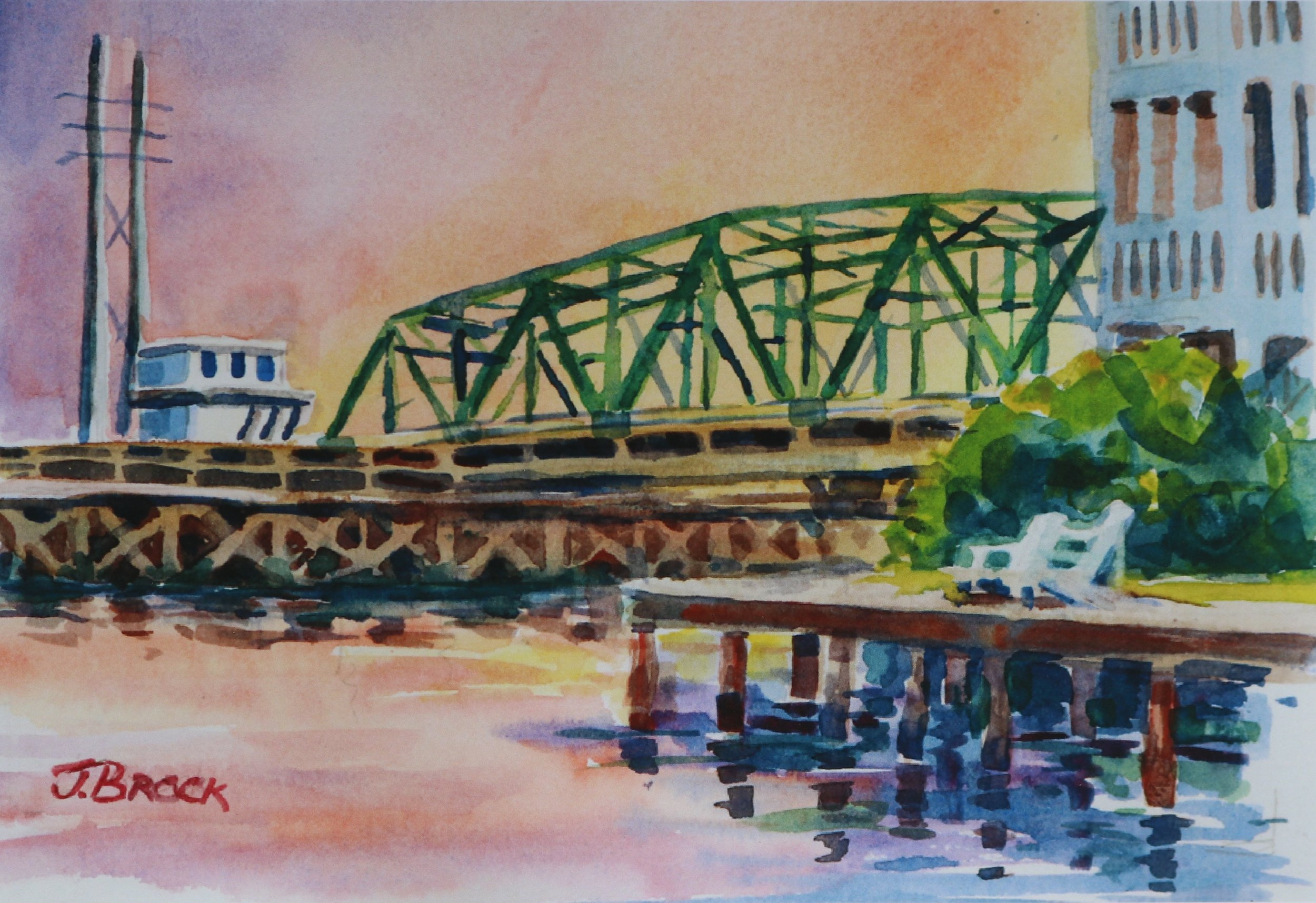 Watercolor, 5x7  NFS  Prints with Acid Free Mats Available  Image- 4.5x6.5, matted- 8x10 $28     Image- 7.5x9.5, matted- 11x14 $48