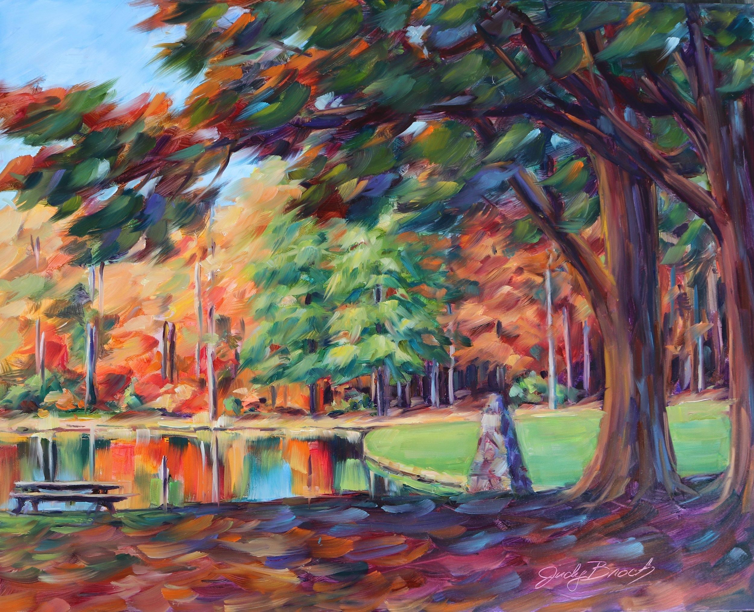 Lake at Trinity Academy