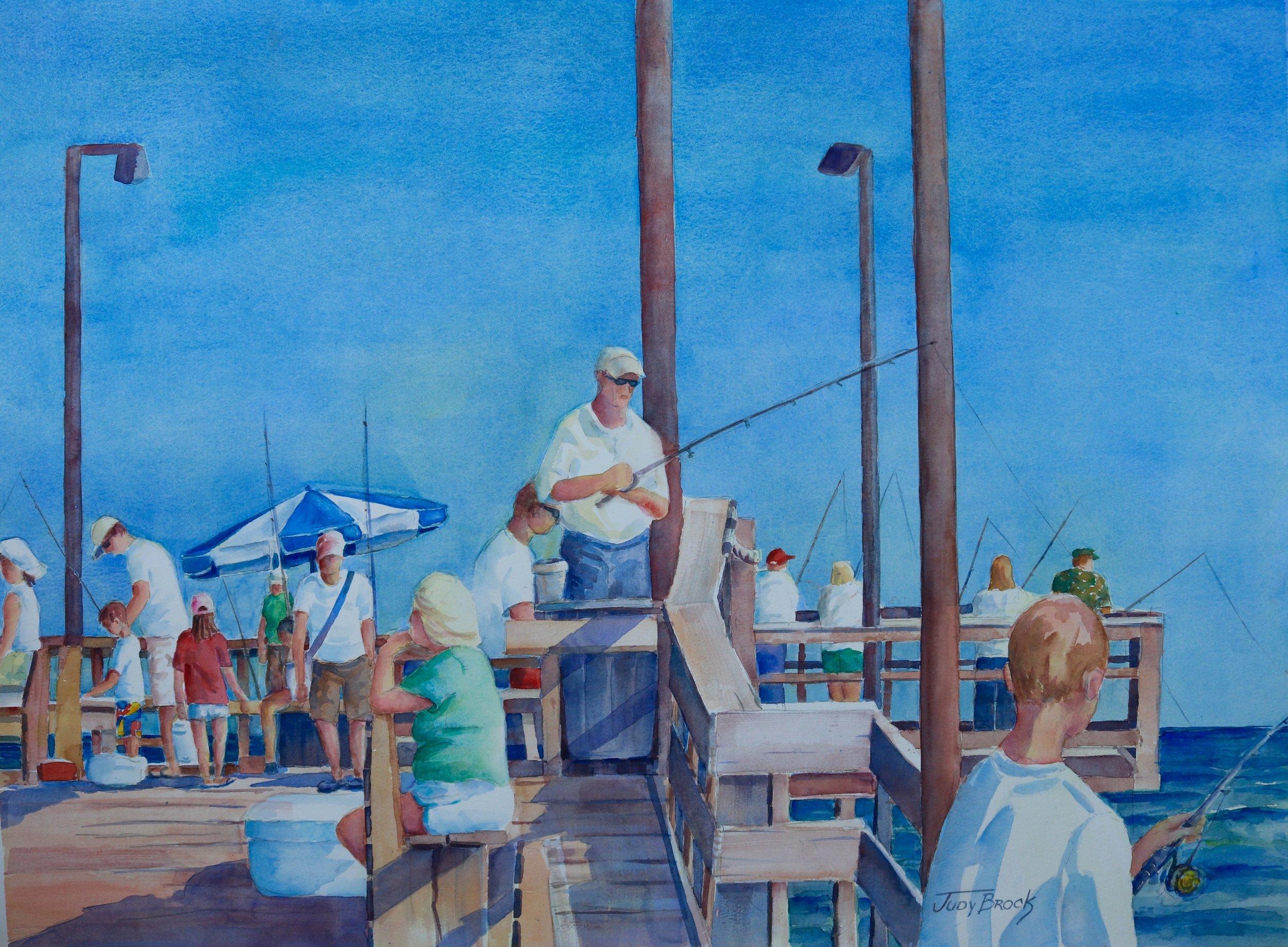 Jolly Roger- Pier Fishing