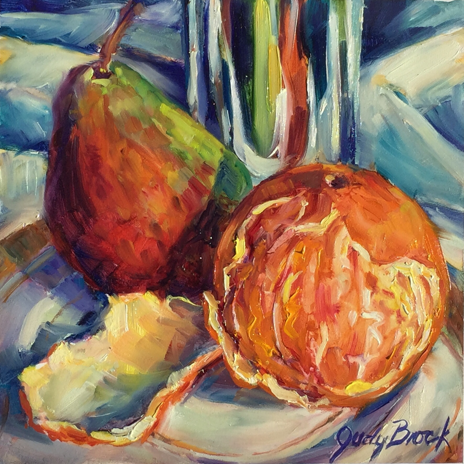 Fruit and Silver Study