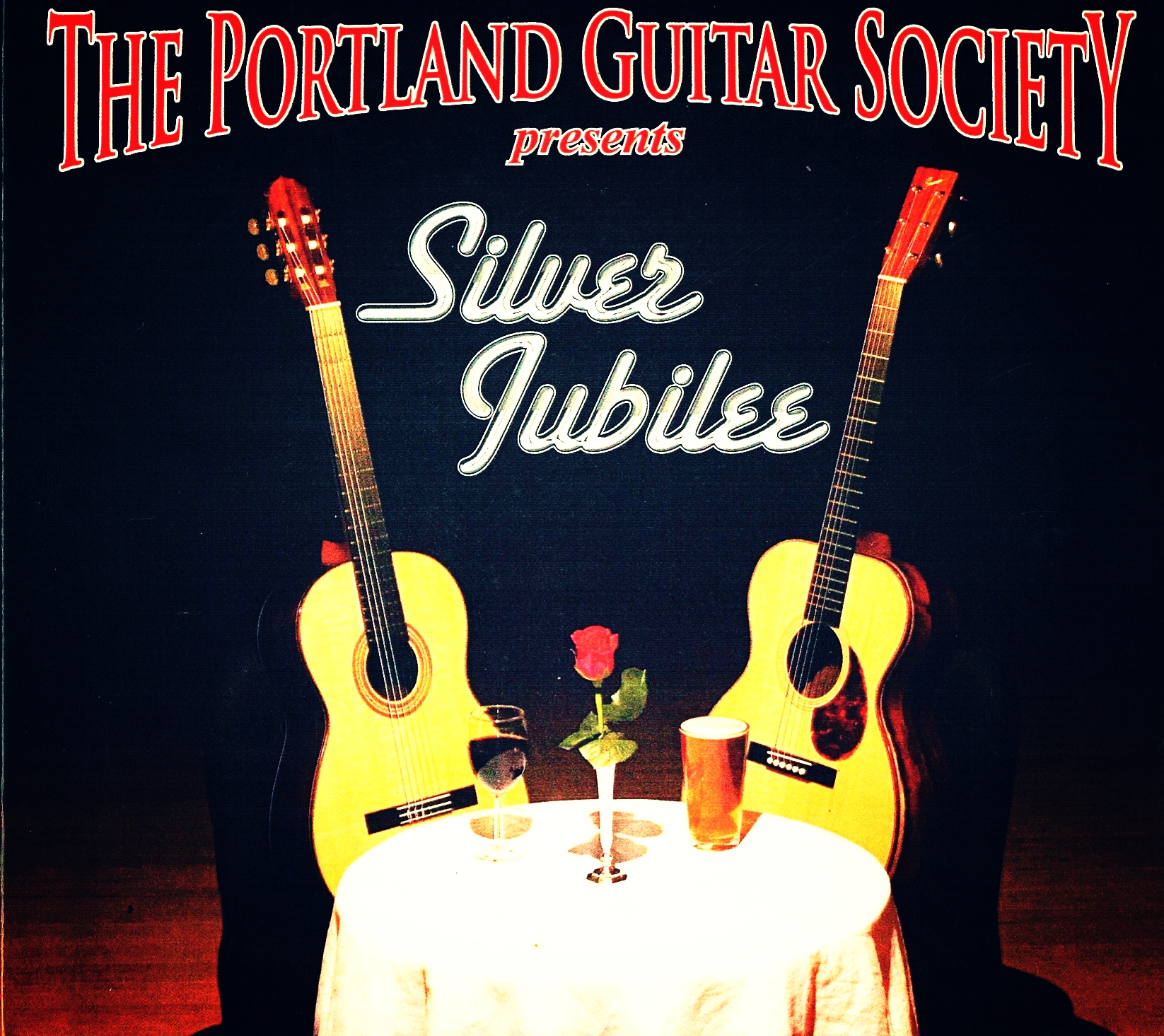 Various Artists, The Portland Guitar Society Presents Silver Jubilee