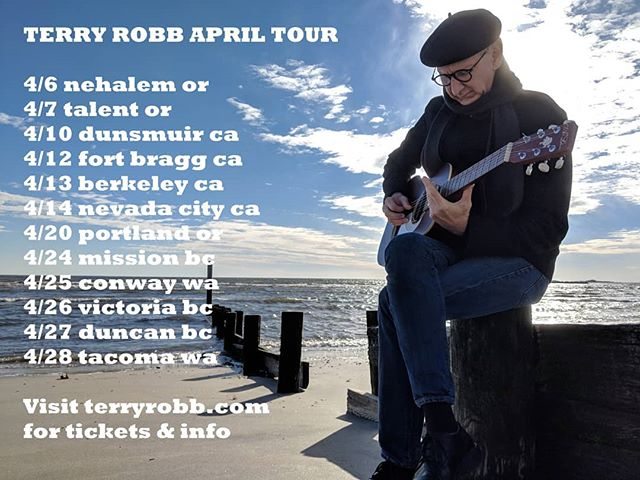 Excited to be back on the #OregonCoast and kicking off another run of shows from the #BayArea to #VancouverIsland. Tonight I'm very happy to be back at #NCRDPerformingArtsCenter in Nehalem with @tcurtismusic. Tickets and info at www.terryrobb.com/tour