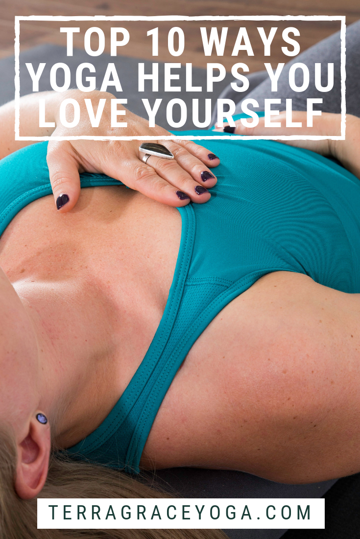 Yoga for self-love, personal care, and body positivity