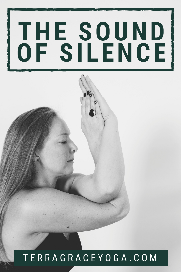 Silent meditation, quiet relaxation, restful yoga