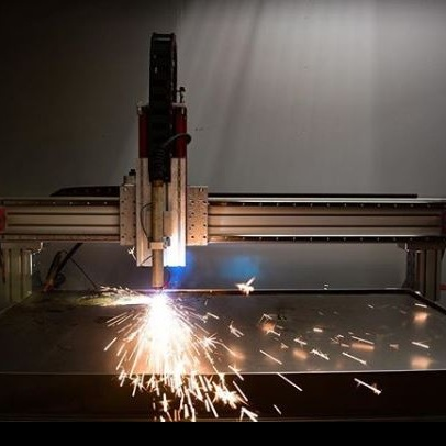 AVID CNC Plasma Cutter at work.