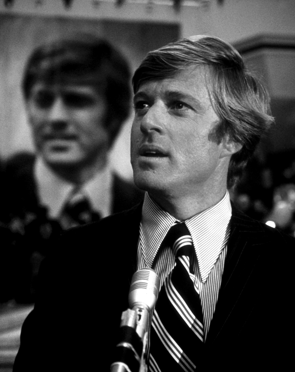 """Robert Redford in in """"The Candidate."""""""