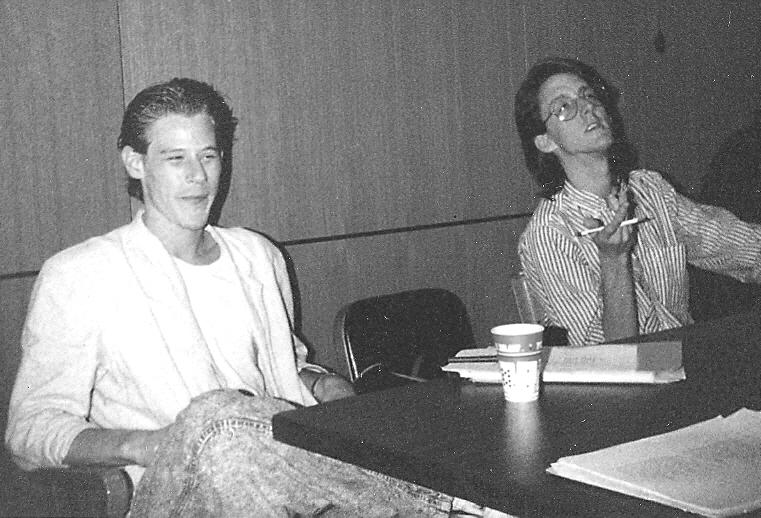 Bolton pictured on left. Photo courtesy of Rhoda Janzen.