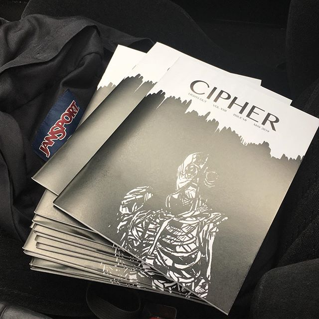 """The """"Lights Out"""" issue is here! Find our last issue of the year around campus this weekend."""