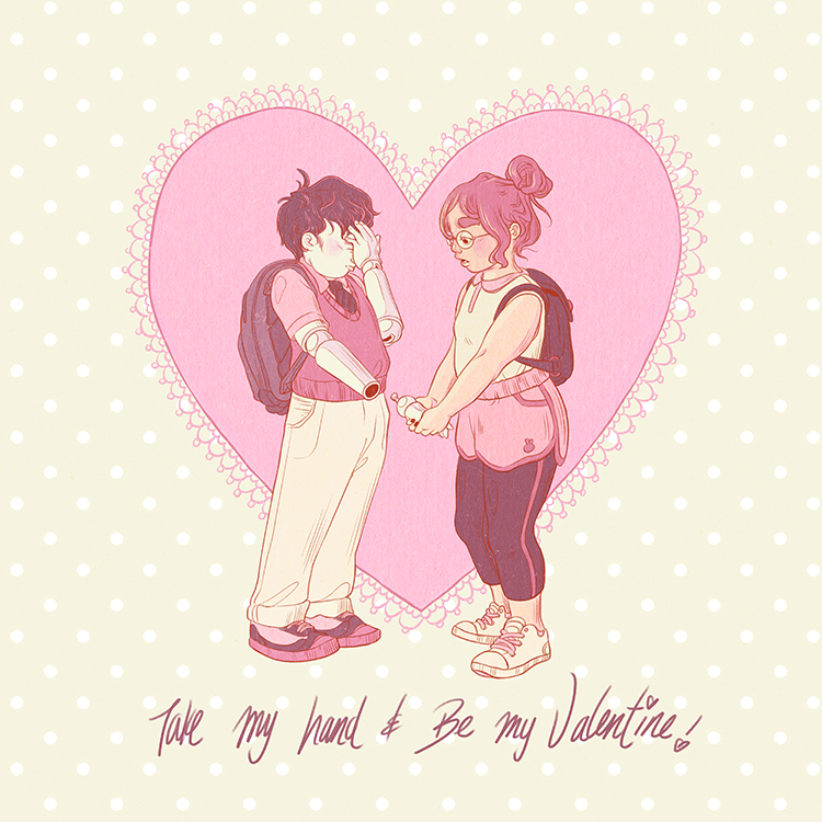 Take My Hand & Be My Valentine!