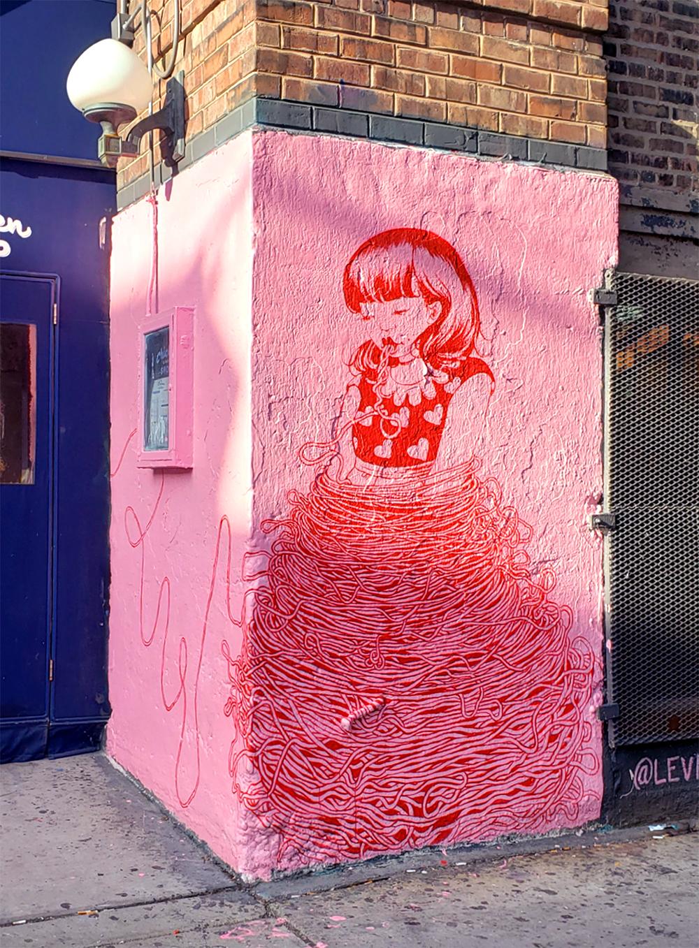 #GraffitionGreen: Angel Hair