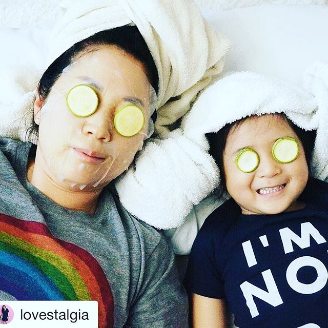 Never to young for pampering! tx for sharing cute pic @lovestalgia ❤️#tribecharms #startwithyourheart