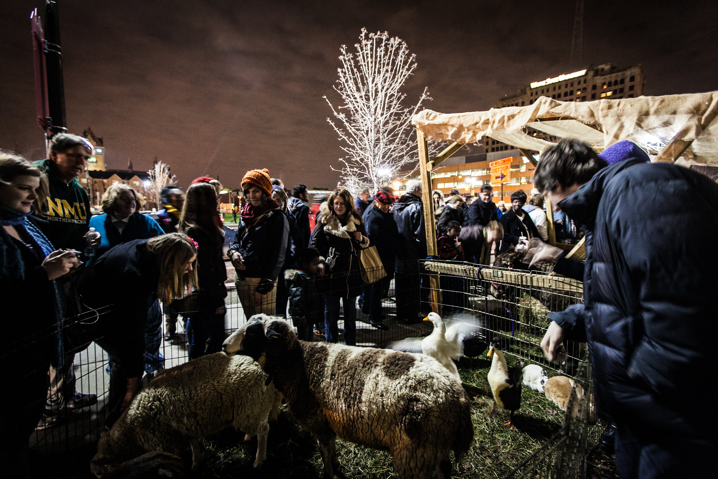 The Live Nativity at the Cathedral Church of St. Paul