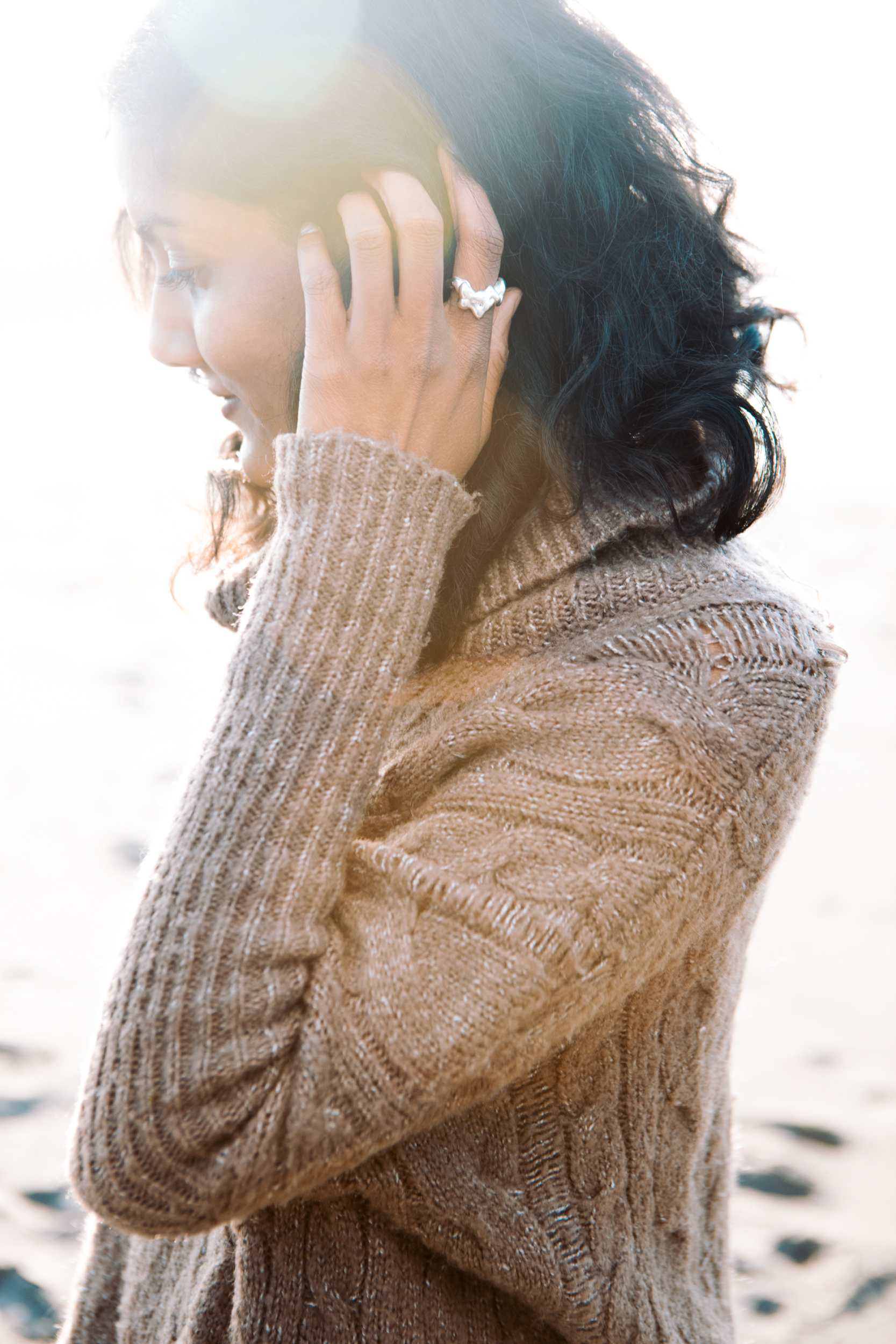 Shilpi wearing the OL  Alex Ring