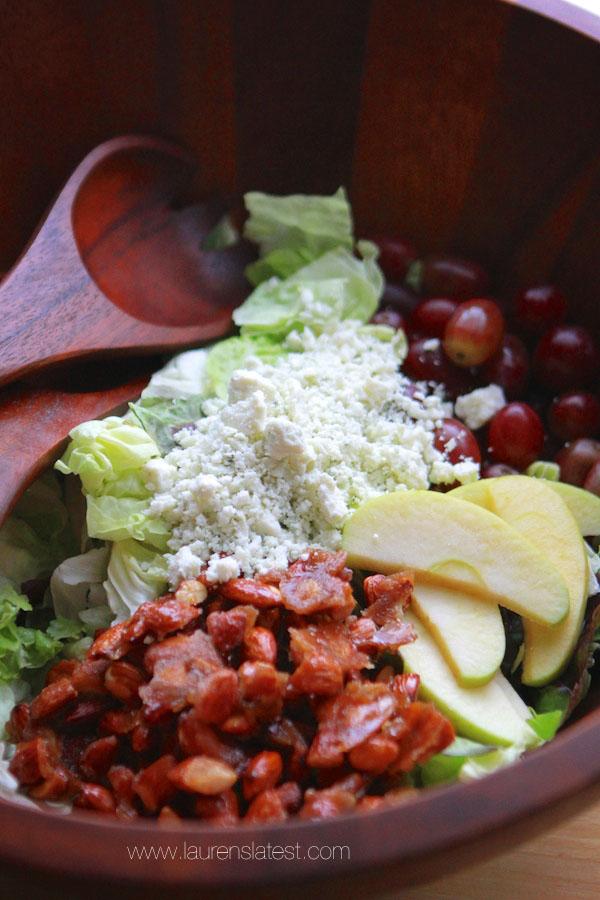 Harvest Apple Bleu Cheese Salad