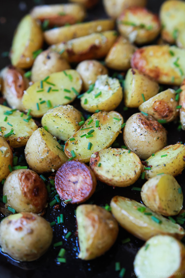 Easy Garlic Ranch Potatoes