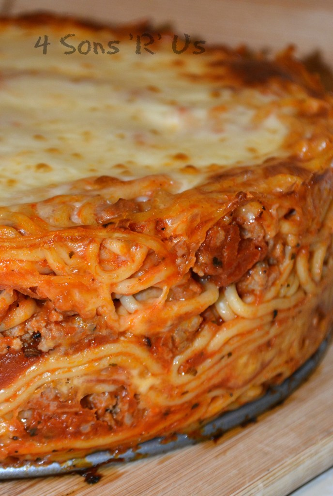 Baked Spaghetti Pie