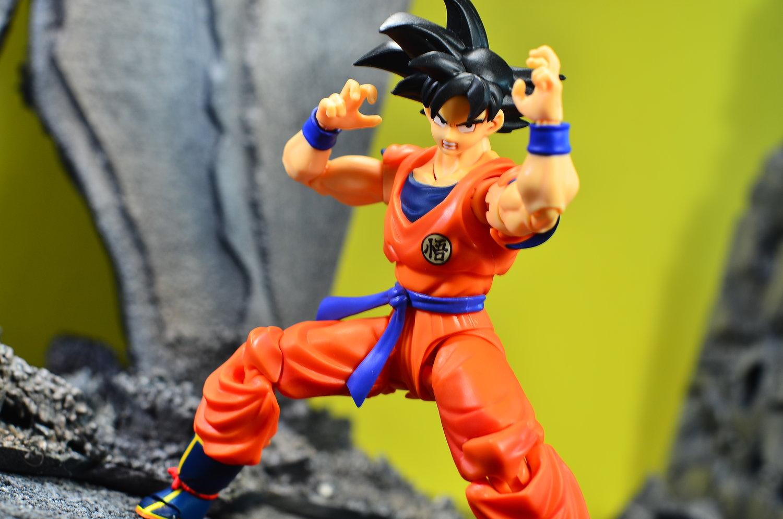 S.H.Figuarts DragonBall Z A Saiyan Raised On Earth Son Gokou PVC Action Figure