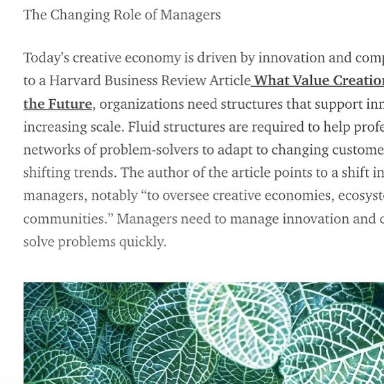 Check out the second write up about one of my areas of interest that I co wrote with my colleague @natalijazed and fellow alum of the Strategic Foresight and Innovation Program at OCAD University. In this piece we take a closer look at the changing role of managers, trust and the Nordic style of management. Check out the link in the bio. #leadership #trust #medium #nordicmanagement