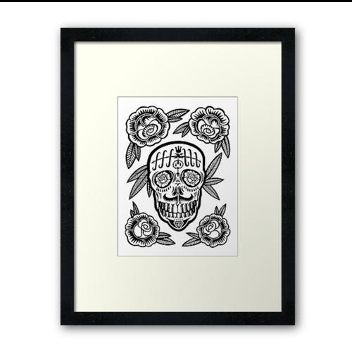Prosperity Framed Print - $90