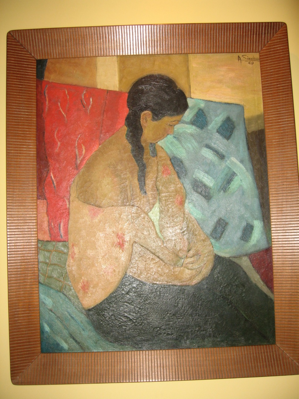 Painting by Alfredo Sinclair, Panama