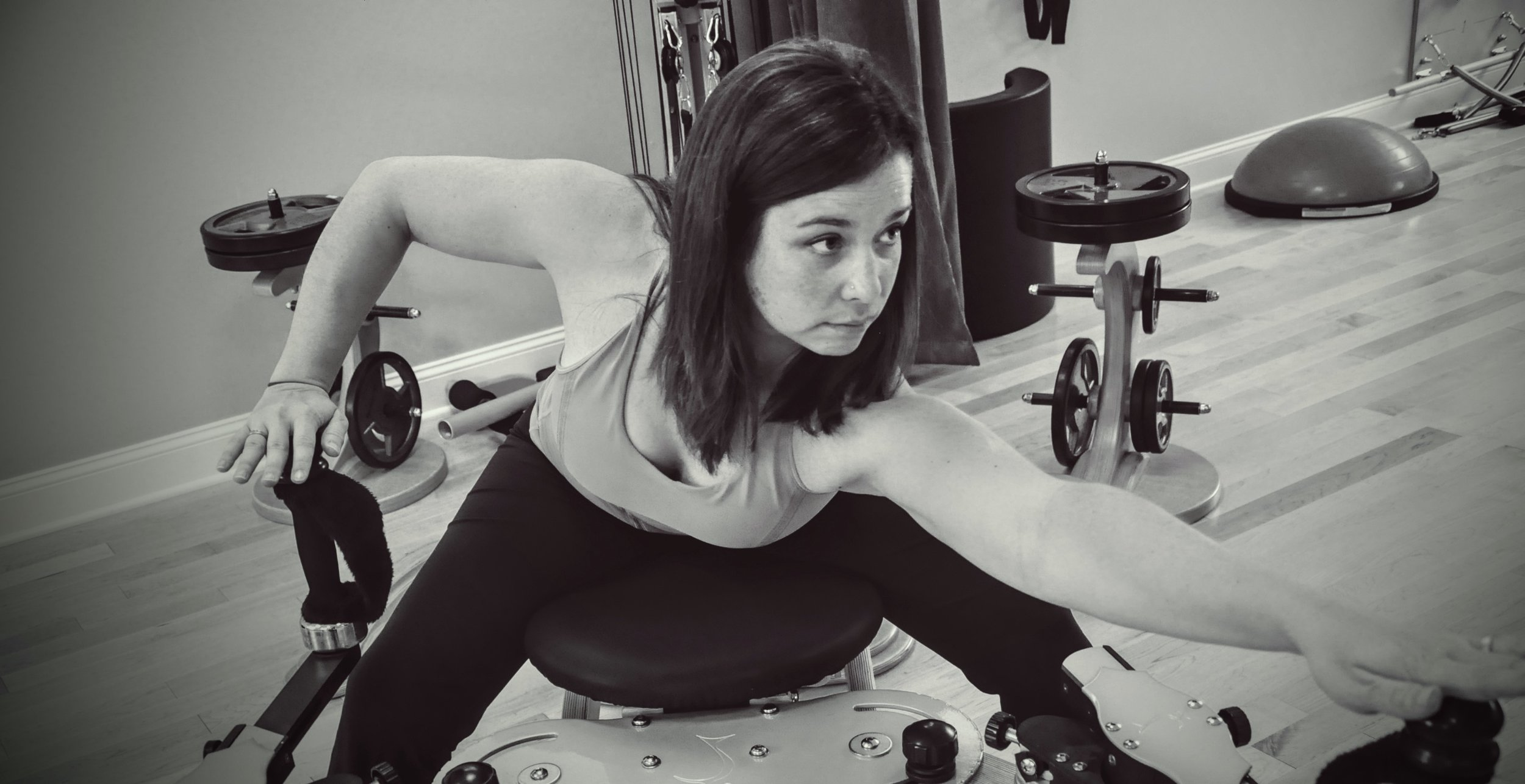 "Certified instructor, Stephanie, demonstrates an exercise on the        Normal.dotm   0   0   1   2   15   Laura Amis Pilates   1   1   18   12.0                      0   false       18 pt   18 pt   0   0     false   false   false                                       /* Style Definitions */ table.MsoNormalTable 	{mso-style-name:""Table Normal""; 	mso-tstyle-rowband-size:0; 	mso-tstyle-colband-size:0; 	mso-style-noshow:yes; 	mso-style-parent:""""; 	mso-padding-alt:0in 5.4pt 0in 5.4pt; 	mso-para-margin:0in; 	mso-para-margin-bottom:.0001pt; 	mso-pagination:widow-orphan; 	font-size:12.0pt; 	font-family:""Times New Roman""; 	mso-ascii-font-family:Cambria; 	mso-ascii-theme-font:minor-latin; 	mso-fareast-font-family:""Times New Roman""; 	mso-fareast-theme-font:minor-fareast; 	mso-hansi-font-family:Cambria; 	mso-hansi-theme-font:minor-latin;}      GYROTONIC®  Tower."