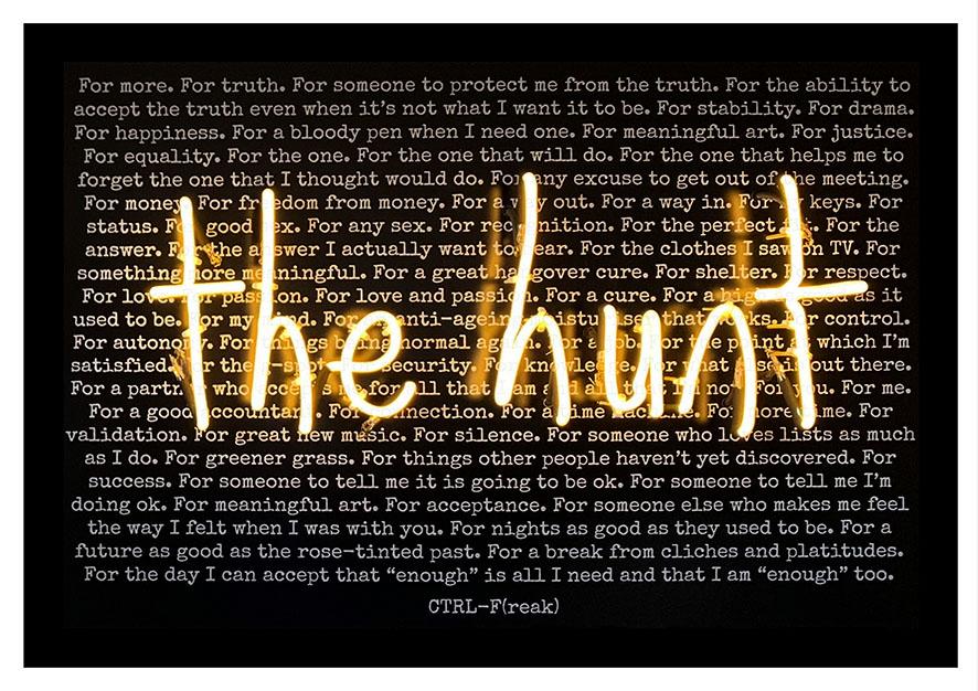 the hunt black background print mockupyellowgold.jpg