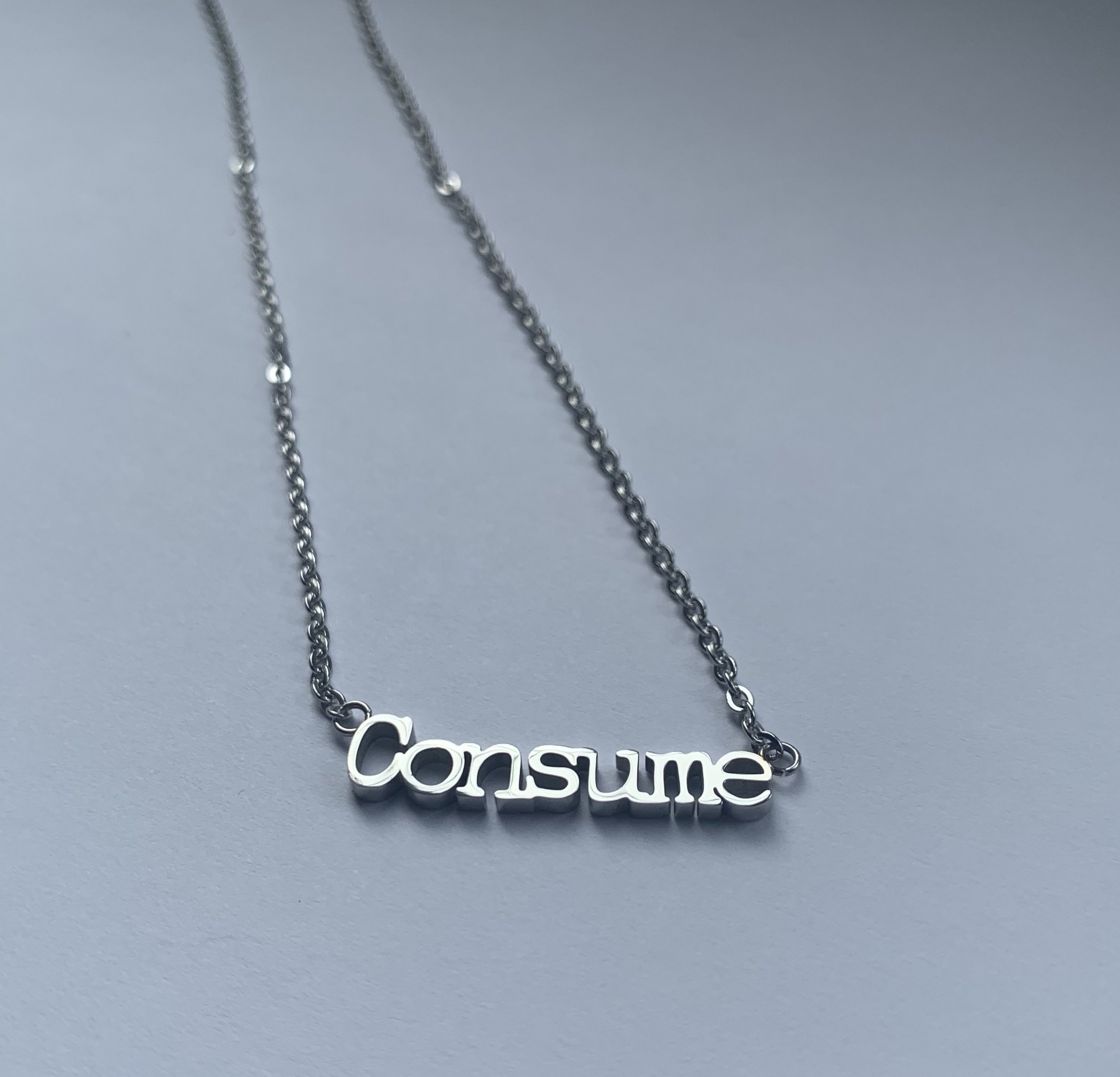 Consume necklaces - coming soon