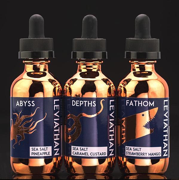 Leviathan Salt Nic (0mg, 3mg, 6mg)
