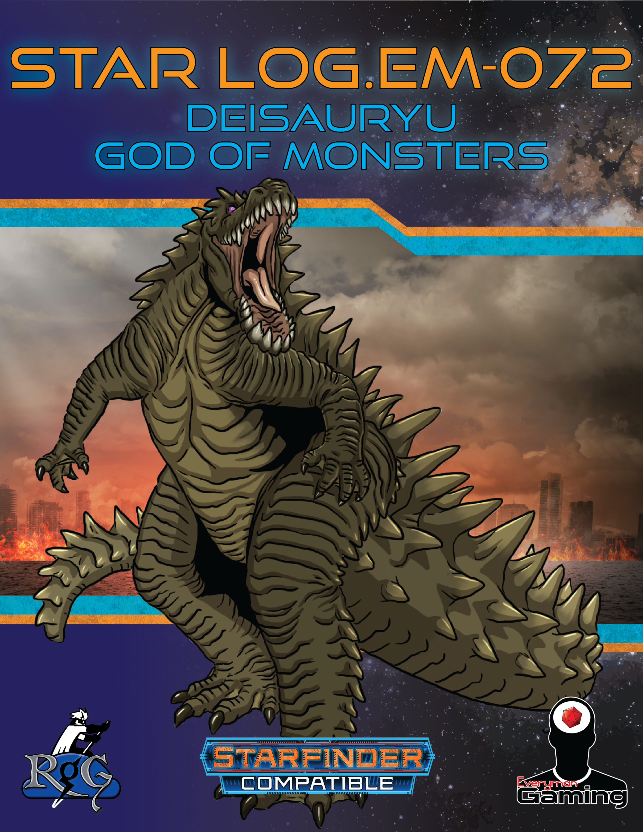 SLEM072 Deisauryu God of Monsters.png