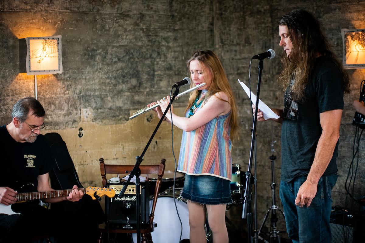 from left: James Houghton, Elzbieta Trec, Doug Smith
