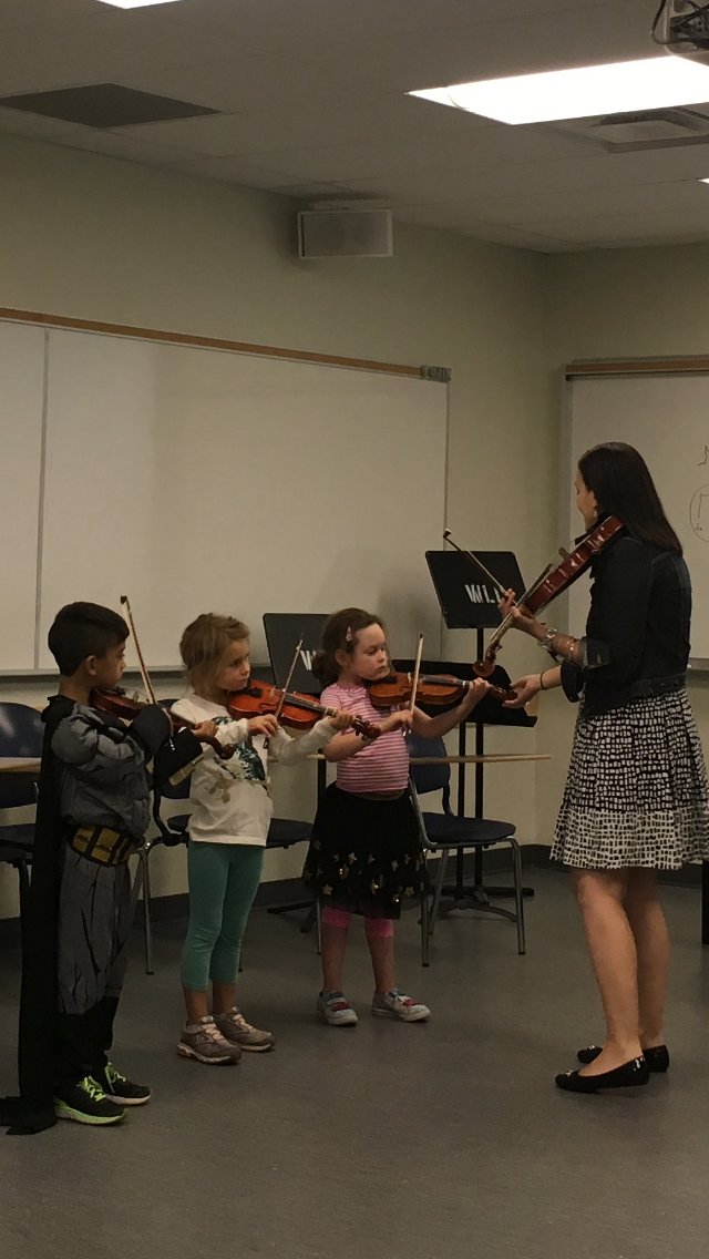 Laurier String Academy Group Class, September 2016