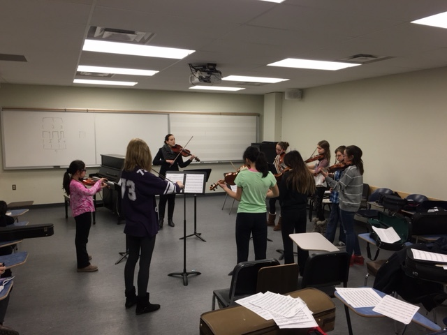 Laurier String Academy Group Class, 2015