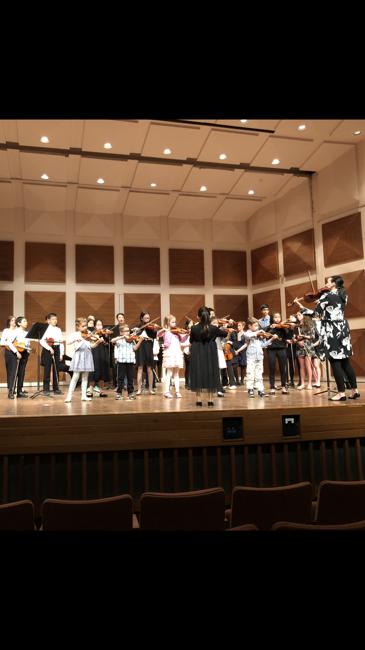 Laurier String Academy Spring Group Concert, May 2018