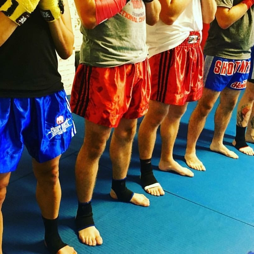 Testing Levels - There are 10 levels of testing, with each test focusing on a different aspect of Muay Thai.   Level 8 is the highest level achieved by any student since the gym opened in 2006.